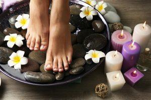 Wees lief voor uw voeten