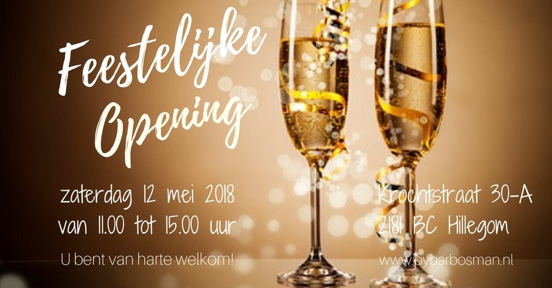 feestelijke opening ByBar Hillegom 2018